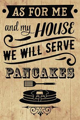 Digital Art - Serve Pancakes by Ruth Moratz