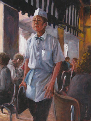 Painting - Service With Dignity by Connie Schaertl