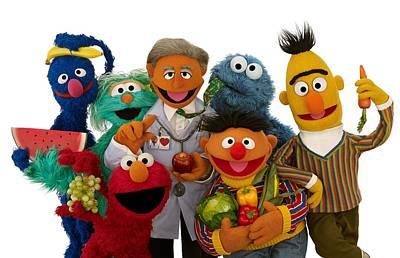 Photograph - Sesame Street by Sesame Street