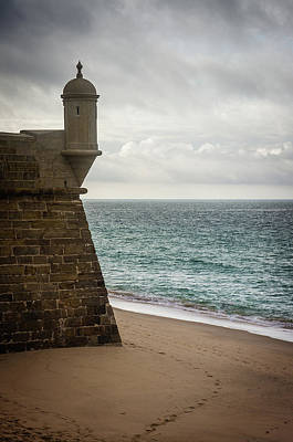 Old Fort Photograph - Sesimbra Fort by Carlos Caetano