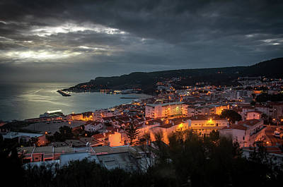 Photograph - Sesimbra Overview by Carlos Caetano