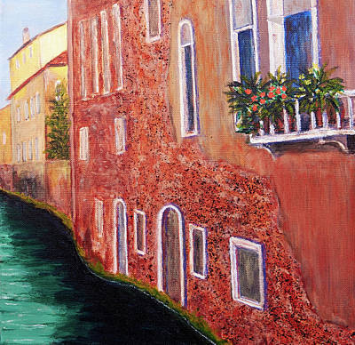 Painting - Sestieri Castello Right Panel by Patricia Beebe