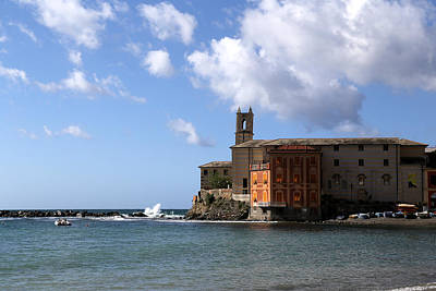 Photograph - Sestri Levante 2 by Andrew Fare