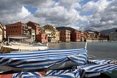 Photograph - Sestri Levante 3 by Andrew Fare