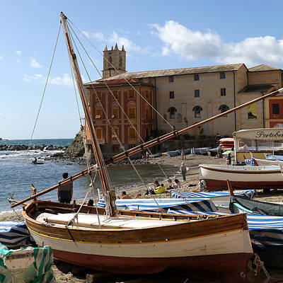 Photograph - Sestri Levante 4 by Andrew Fare
