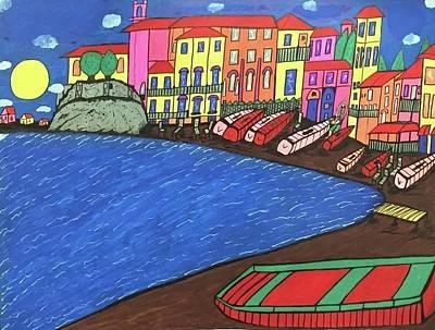 Sestri Levante Italy Art Print