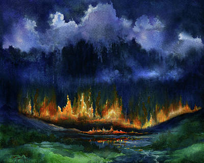 Set Fire To The Rain Original by Gina Jane