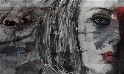 Portraits Mixed Media - Set Fire To The Rain  by Paul Lovering