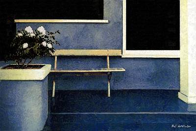 Painting - Set Piece With Gardenias by RC deWinter