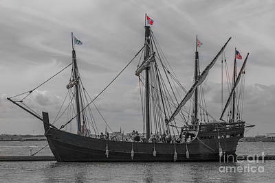 Photograph - Set Sail For America by Dale Powell