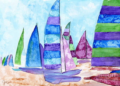 Painting - Set Sail by Julia Stubbe
