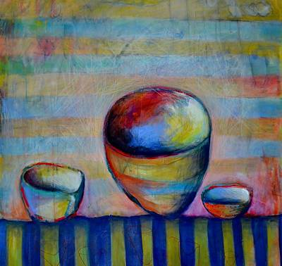 Painting - Set The Table Series #1 by Rosemary Healy