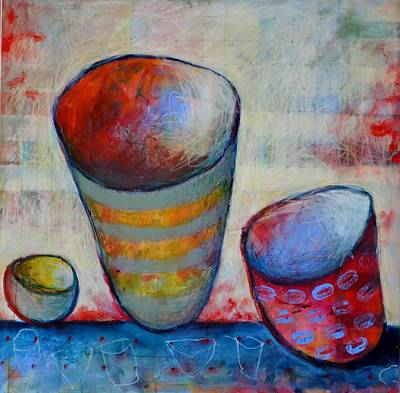 Painting - Set The Table Series #2 by Rosemary Healy