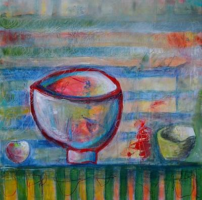 Painting - Set The Table Series #3 by Rosemary Healy