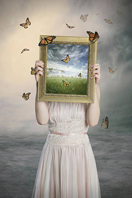 Surreal Photograph - Set Them Free by Baden Bowen