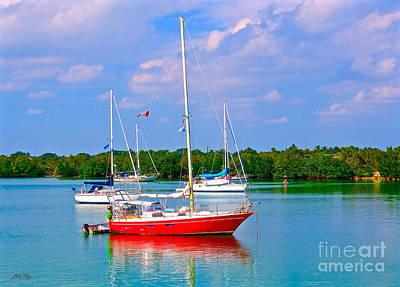 Photograph - Set To Sail by Judy Kay
