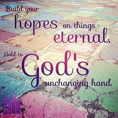 Design Wall Art - Photograph - Set Your Mind On The Things That Are by LIFT Women's Ministry designs --by Julie Hurttgam