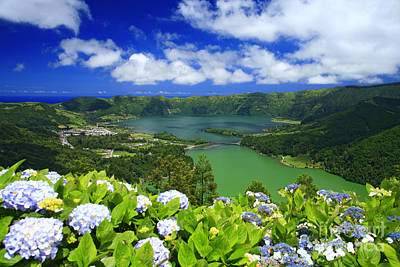 Crater Lake Wall Art - Photograph - Sete Cidades Crater by Gaspar Avila