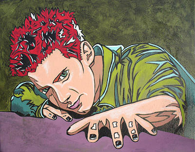 Painting - Seth Is Green by Sarah Crumpler