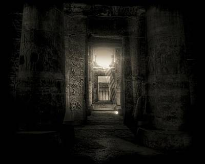 Photograph - Seti I Temple Abydos by Nigel Fletcher-Jones