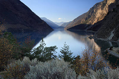 Photograph - Seton Lake  British Columbia by Pierre Leclerc Photography
