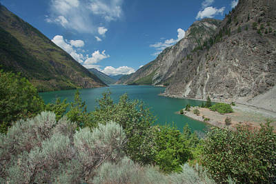 Photograph - Seton Lake by Jacqui Boonstra