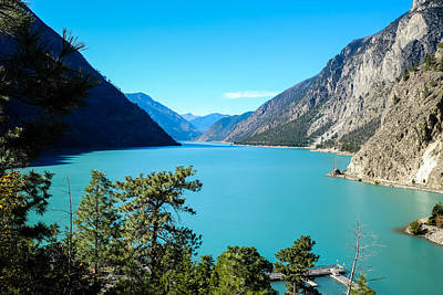 Photograph - Seton Lake by John McArthur