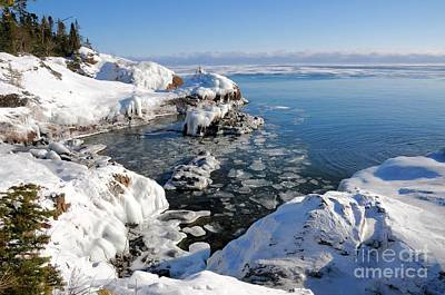 Photograph - Setting Ice On Superior by Sandra Updyke