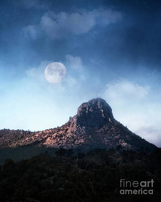Photograph - Setting Moon by Scott Kemper