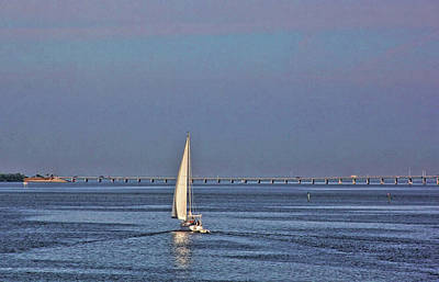 Photograph - Setting Sail 2 by HH Photography of Florida