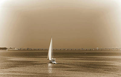 Photograph - Setting Sail by HH Photography of Florida