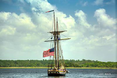 Photograph - Setting Sail by Walt Baker