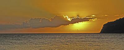 Photograph - Setting Sun by Ian  MacDonald