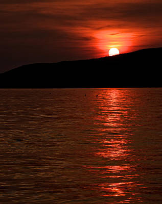 Photograph - Setting Sun by Kathi Isserman