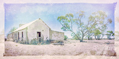 Settler's Cottage 4 Art Print by Jan Pudney