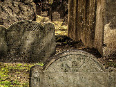 Photograph - Settlers Graveyard by Gary Shepard