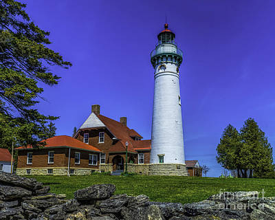 Seul Choix Point Lighthouse Art Print