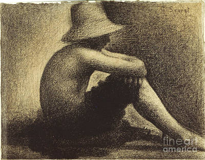 Photograph - Seurat: Seated Boy, 1883-4 by Granger