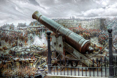 Sevastopol Cannon 1855 Art Print by Pennie  McCracken
