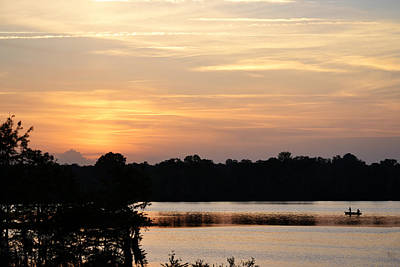 Photograph - Seven A M - Sunrise Almost by rd Erickson
