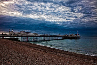 Seven Am On Brighton Seafront Art Print