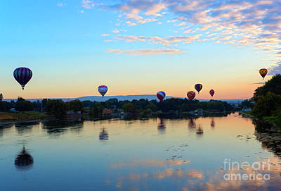 Prosser Photograph - Seven At Dawn by Mike Dawson
