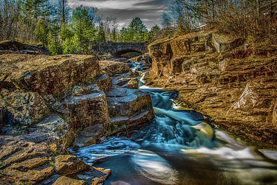 Duluth Photograph - Seven Bridges Road by Paul Freidlund