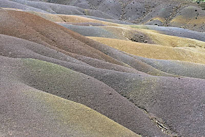 Photograph - Seven Coloured Earths by Tony Murtagh