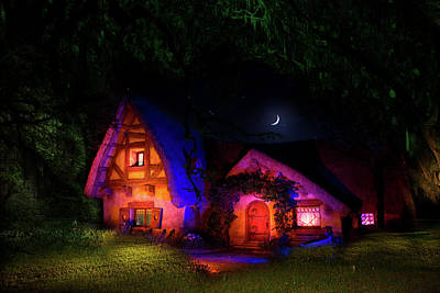 Photograph - Seven Dwarves Cottage by Mark Andrew Thomas