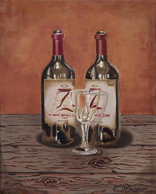 Zin Painting - Seven by Erick Ortega