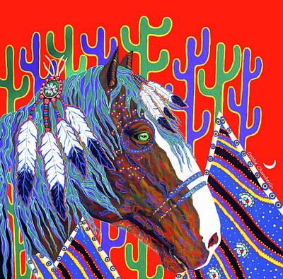 Seven Feathers Art Print