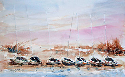 Seven Little Boats Original