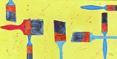 Painting - Seven Or Seven by Isaac Alcantar