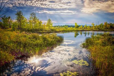 Photograph - Seven Ponds Nature Centerwater Fowl Refuge by LeeAnn McLaneGoetz McLaneGoetzStudioLLCcom